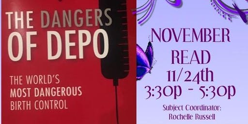 GCT BOOK READING CLUB - NOV: THE DANGERS OF DEPO