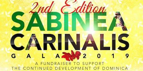 Sabinea Carinalis Gala 2019 tickets
