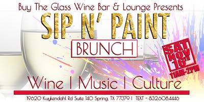 Sip n' Paint Brunch | The Woodlands & N. Houston