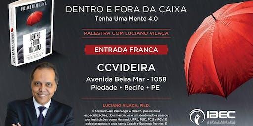 """Lançamento """"Dentro e Fora da Caixa"""" na CCVideira - Recife"""