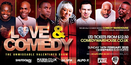 Love & Comedy | Comedy WareHouse Valentines Special tickets