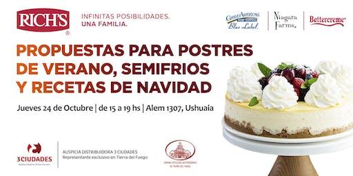 Postres de Verano, Semifríos y recetas para Navidad