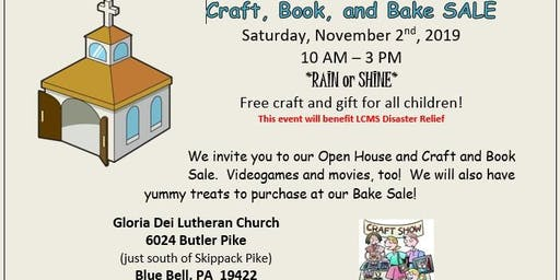 Craft, Book, and Bake Sale