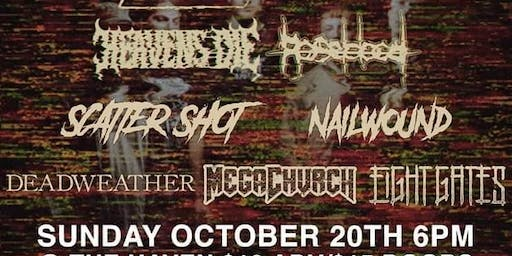 Boundaries,Heavens Die,Roseblood and Special Guests at The Haven