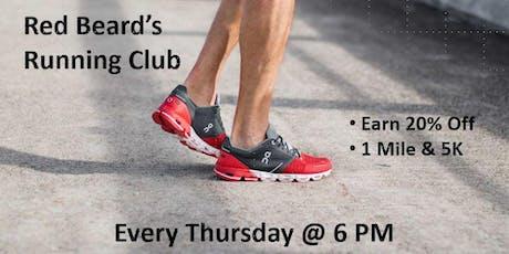 Red Beard's Running Club tickets