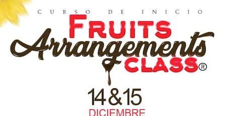 Fruits Arragement Class tickets