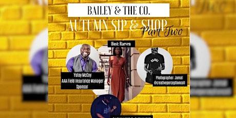 Autumn Sip & Shop Part Two tickets