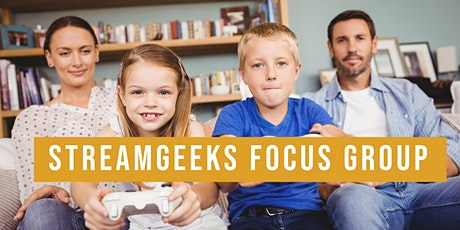 Focus Group - Parents with Children Gamers tickets
