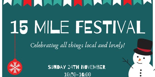 15 Mile Festival- A celebration of everything local!