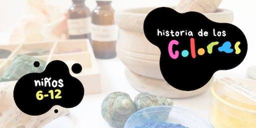 Historia de los Colores
