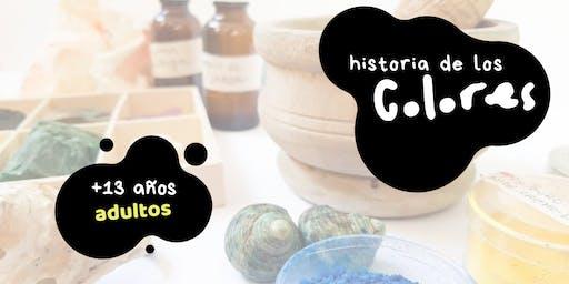 Charla-coloquio 'Historia de los Colores'