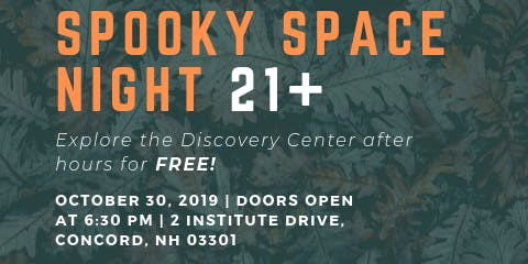 21+ SPOOKY SPACE NIGHT AT MSDC **FREE ADMISSION**