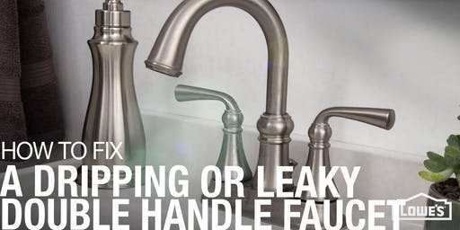 How to install/repair a faucet