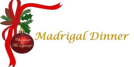 Madrigal Dinner tickets