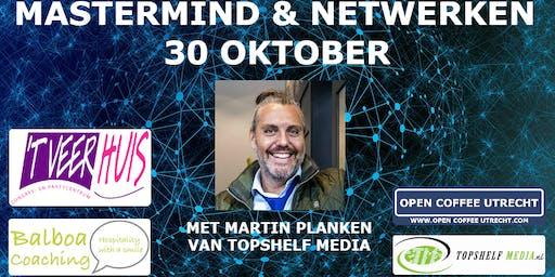 """Netwerken @ Open Coffee Utrecht + MasterMind """"Stilstaan Om Vooruit Te Gaan"""""""