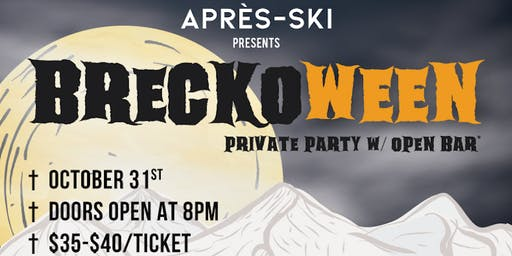 BRECKOWEEN Official Halloween Private Party