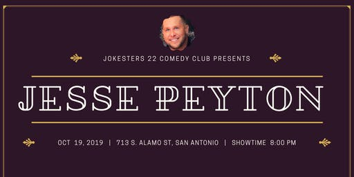 Jesse Peyton : Live Stand Up Comedy at Jokesters 22