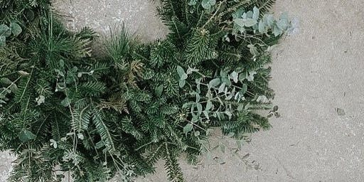 Create Your Own Hand-Tied Wreath