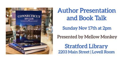 Book Talk and Signing of Connecticut 169 Club with Author Marty Podskoch
