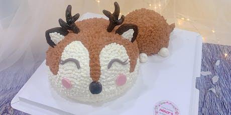 Reindeer Cake Baking Class tickets