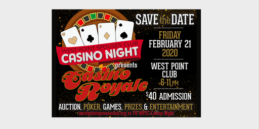 CASINO NIGHT 2020!