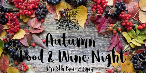 Autumn Food & Wine Night