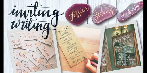 A Festive Introduction to Modern Calligraphy - Wed 6th Nov 2019 (Oakham)
