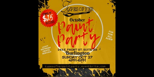October Paint Party