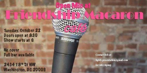 Open Mic Comedy at Friendship Cafe!