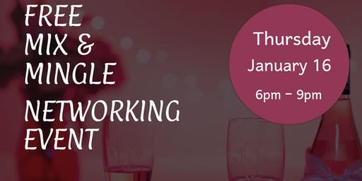 Free Mix and Mingle Networking Event