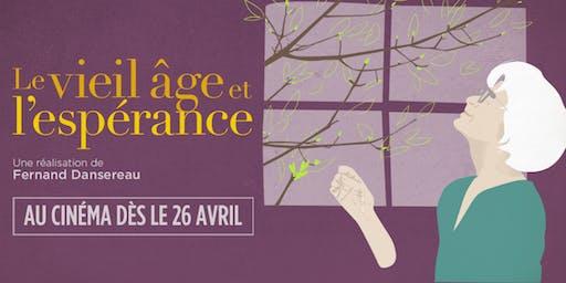 """Projection gratuite du film """"LE VIEIL ÂGE ET L'ESPÉRANCE"""""""