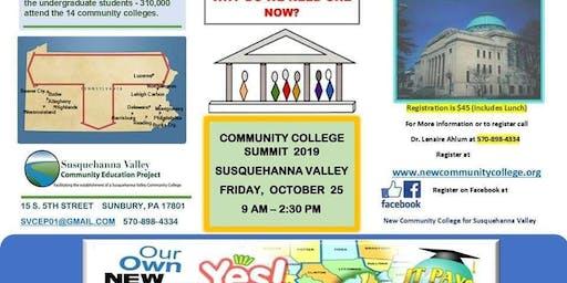 Community College Summit 2019 Susquehanna Valley