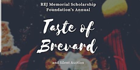 REJ Memorial Scholarship Foundation presents Taste Of Brevard 2020 tickets