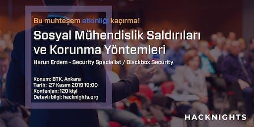 Sosyal Mühendislik Saldırıları ve Korunma Yöntemleri   hacknights.org