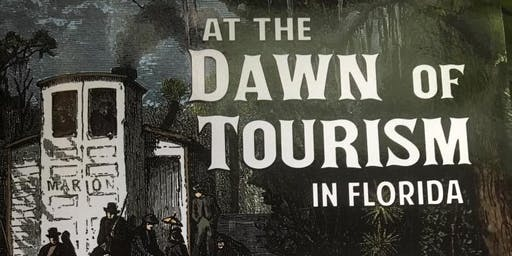 "Third Thursday Lecture – November 21 Stowe expert - John Foster – ""At the Dawn of Tourism  in Florida"""