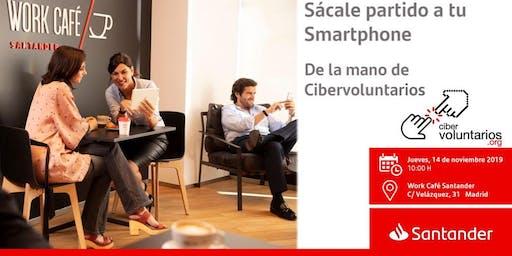Sácale partido a tu Smartphone de la mano de Cibervoluntarios
