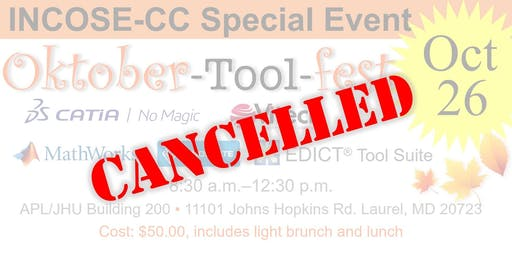 CANCELLED: The Systems Engineering Oktober-Tool-fest