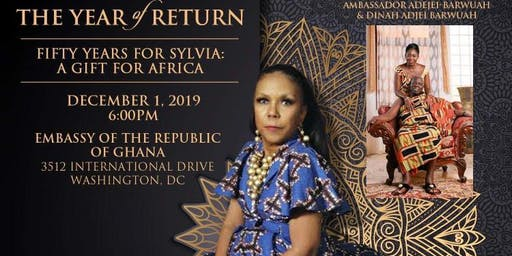 The Year of Return, 50 Years for Sylvia - A Gift For Africa