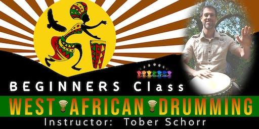 Oct 30 Beginners Class West African Drumming
