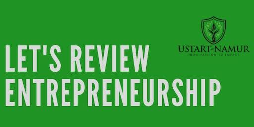 Let's review entrepreneurship
