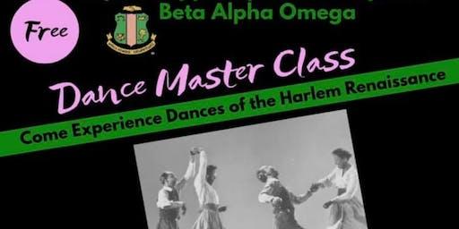 Master Dance Class
