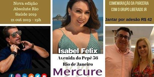 Nova edição Absolute Rio - capa com Isabel Félix