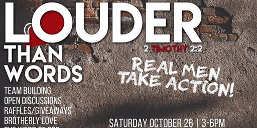 Greater Works Presents Louder Than Words