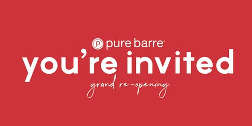 Pure Barre Rocky River - Grand Re-Opening
