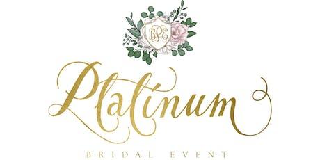 Platinum Bridal Event tickets
