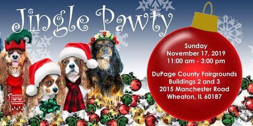 "Greater Chicago Cavalier Rescue ""Jingle Pawty"""