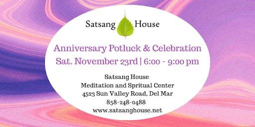 Satsang House Anniversary Celebration and Potluck