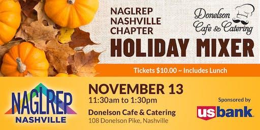 NAGLREP Nashville Holiday Luncheon Nov 13
