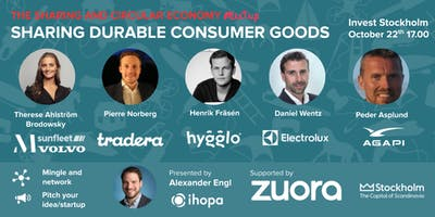 Sharing & circular economy in consumer goods - Panel & Networking (Free)
