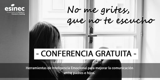 Conferencia Inteligencia Emocional Gratis para padres en Zaragoza